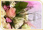 Bouquet de mariée en cascade