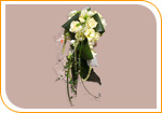 Bouquet en cascasde piquée ou montée