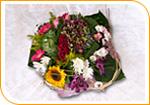 Le bouquet tendance avec sa bulle d'eau